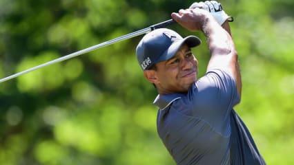 Bisher spielte Tiger Woods mit Schlägern von Nike. Wechselt er jetzt zu TaylorMade? (Foto: Getty)