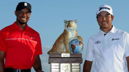 Nicht nur Matsuyama war mit seinem Sieg erfolgreich, auch Tiger Woods kann auf ein erfolgreiches Comeback bei der Hero World Challenge zurückblicken. (Foto: Getty)