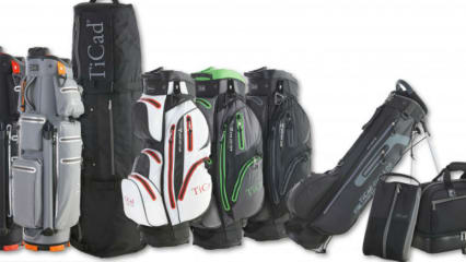 TiCad und Bennington haben gemeinsam eine Golftaschen-Kollektion auf den Markt gebracht. (Foto: TiCad)