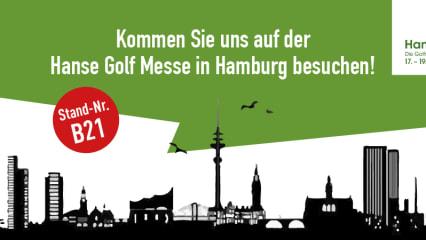 Moin moin und Ahoi - Golf Post zu Gast auf der Hanse Golf Messe 2017 in Hamburg. (Foto: Golf Post)