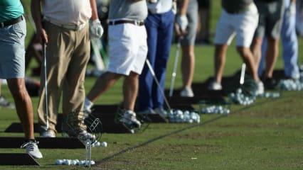 Golfer verbringen viel Zeit auf der Driving Range - da ist der Wohlfühlfaktor besonders wichtig. (Foto: Getty)