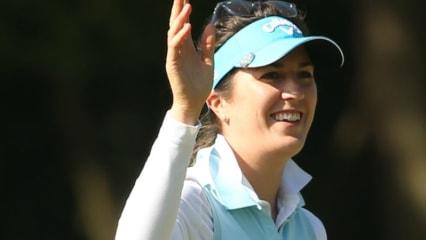 Sandra Gal spielt bei der Oates Vic Open an der Spitze liegend um den Sieg mit.