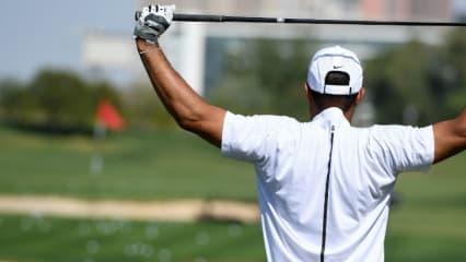 Tiger Woods hat die Omega Dubai Desert Classic nach der ersten Runde aufgrund von Rückenbeschwerden abrechen müssen. (Foto: Getty)