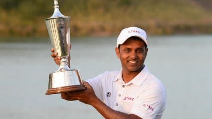 Lokalmatador S.S.P. Chawrasai siegt vor Heimpublikum bei der Hero Indian Open. (Foto: Getty)