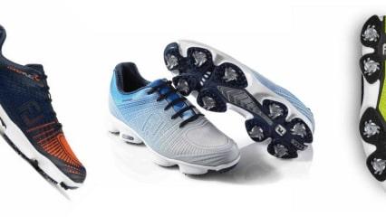 FootJoy setzt beim Hyperflex II erneut auf Sportlichkeit in Verbindung mit weichem Tragekomfort. (Foto: FJ)