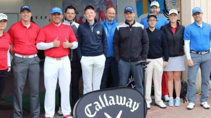 Neben den neuen Werbestars waren auch Callaway-Fitter, Golf-Pros und Golf Post im Clostemanns Hof vertreten. (Foto: Golf Post)