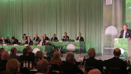 Der 98. DGV Verbandstag trat am 28. und 29. April in Frankfurt am Main zusammen. (Foto: DGV)