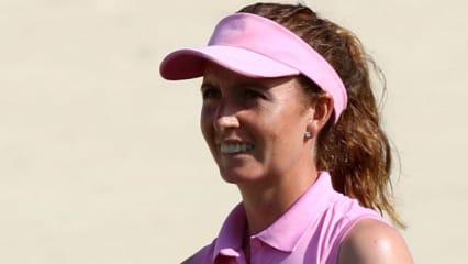 Am vierten Playoff-Loch siegt Florentyna Parker bei der Estrella Damm Mediterranean Ladies Open. (Foto: Getty)