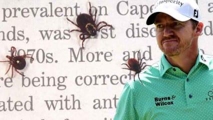 Die Zecken haben Jimmy Walker erwischt. Der Golfprofi gibt eine Borreliose Infektion bekannt.