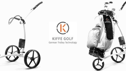 Kiffe Golf ist Deutschlands ältester Elektro-Trolley-Hersteller. (Foto: Kiffe Golf)