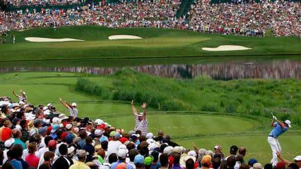 Das US Open Playoff findet statt, wenn nach 72 Löchern mindestens zwei Spieler gleichauf liegen. (Foto: Getty)