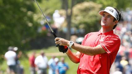 Bubba Watson sucht Angriffsmöglichkeiten im Finale des Memorial Tournament. (Foto: Getty)
