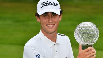 Renato Paratore gewinnt mit 20 Jahren beim Nordea Masters zum ersten Mal auf der European Tour. (Foto: Getty)