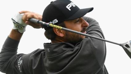 Stephan Jäger schlägt bei der US Open in Erin Hills zum zweiten Mal bei einem Major ab.
