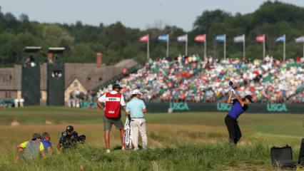 Über den Platz der US Open in Erin Hills wurde im Vorhinein viel diskutiert, an den ersten beiden Tagen spielte er sich jedoch überraschend gut.