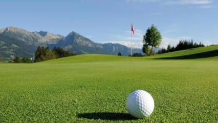 Hier zu sehen: Der Kurzplatz Gundelsberg. (Foto: Golf Resort Sonnenalp Oberallgäu)