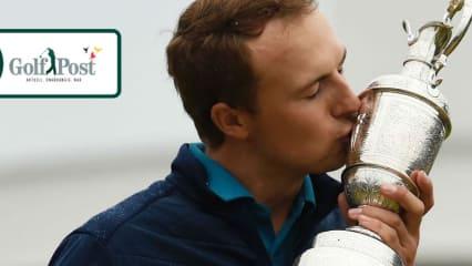 Jordan Spieth ist der Champion Golfer of the Year und nähert sich mit drei Majorsiegen dem Karriere-Grand-Slam. (Foto: Getty)
