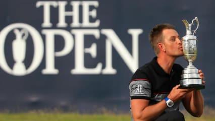 Henrik Stenson ist seit seinem Sieg bei der British Open 2016 der erste schwedische Majorsieger.