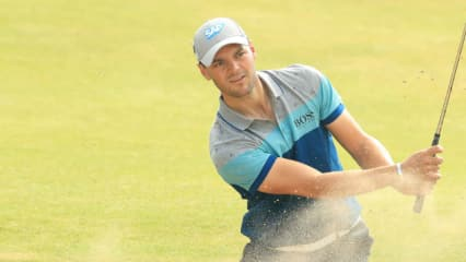 Martin Kaymer kämpft mit den Bunkern bei der British Open in Royal Birkdale. (Foto: Getty)