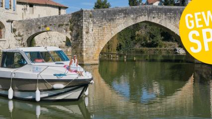 Gewinnen Sie ein Wochenende auf Ihrem eigenen Hausboot im Elsass. (Foto: Nicols)