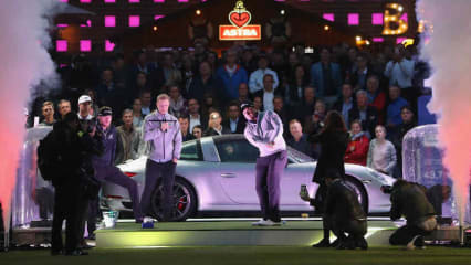 Kick-Off der Porsche European Open 2017 mitten auf dem Hamburger Kiez. (Foto:Getty)
