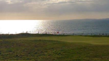 Südwales: Sonne, Graupel, Schnee und großartige Golfplätze