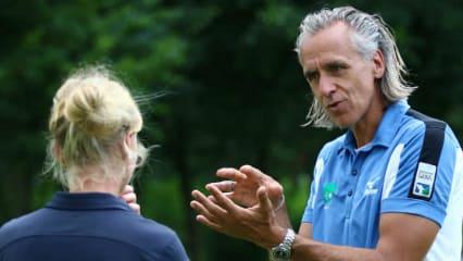 Künftig wird Christoph Herrmann die Herren der Nationalmansschaft als Bundestrainer unterrichten. (Foto: DGV/stebl)