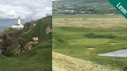 Golf Post Leser Rainer Veith erlebte bei einer seiner Golfreisen spannende Turnierrunden auf einigen der schönsten Golfplätze in Irland. (Foto: Rainer Veith)