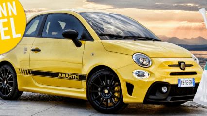 Golf Post verlost diese Woche 47 Päckchen der Mytees und als Hauptpreise Fahrten mit dem Fiat Abarth. (Foto: Mytee)