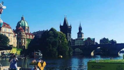 Martin Kaymer wärmt sich schon mal für's Czech Masters auf. (Foto: Instagram@martinkaymer59)