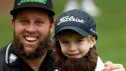 Die Amerikaner mussten sich bei der PGA Championship 2017 von ihrem neuen Publikumsliebling, Andrew