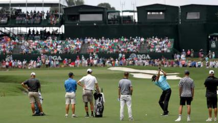 Die besten Schläge der PGA Championship 2017 im Video. (Foto: Getty)
