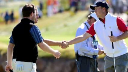 Die besten Golfspieler der Welt treten beim diesjährigen Presidents-Cup in New Jersey in Teams gegeneinander an. (Foto: Getty)