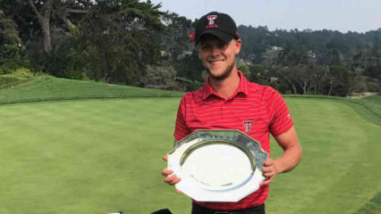 Hurly Long mit neuem Platzrekord im Pebble Beach Golfresort (Foto: Texas Tech Mens Golf )