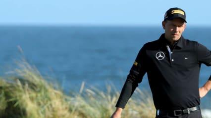 Marcel Siem kommt als Top-Deutscher bei der Alfred Dunhill Links Championship ins Clubhaus. (Foto: Getty)