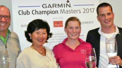 Die Sieger des Club Champion Masters 2017. (Foto: Golf Marketing GmbH)