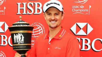 Ton in Ton - Justin Rose hat sich schon mit der Kleidungswahl auf seinen Sieg bei der WGC - HSBC Champions vorbereitet. (Foto: Getty)