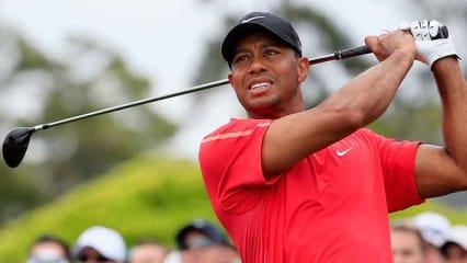 Tiger Woods trainierte wieder mit dem Driver. Kehrt er bald auf die Tour zurück? (Foto: Getty)