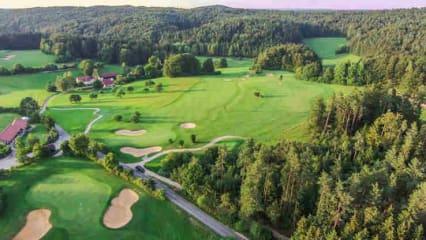 Bahn 8,9 und 13 der Golfanlage Gerhelm. (Foto: 500% Golf)