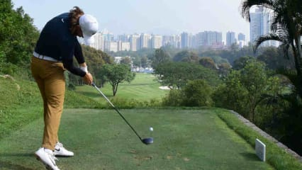 Tommy Fleetwood bei der UBS Hong Kong Open 2017. (Foto: Getty)