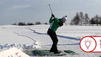 Trainingstipp Golf Winter Fabian Bünker