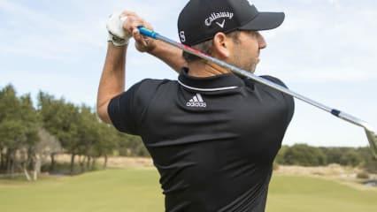 Sergio Garcia trägt jetzt Callaway - auf dem Kopf und in der Tasche. (Foto: Callaway Golf)