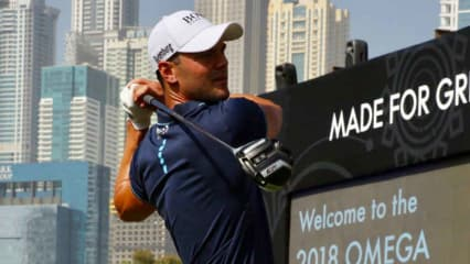 Martin Kaymer beim Moving Day der Dubai Desert Classic. (Foto: Uwe Erensmann für Golf Post)