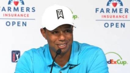 Bei der letzten Pressekonferenz vor seinem achten Comeback gibt Tiger Woods zu, dass sich seine Erwartungen geändert haben. (Foto: Twitter/golfchannel)