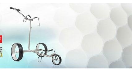 Der JuCad Ghost Titan Elektrotrolley soll mit Design und einfacher Handhabung überzeugen. (Foto: JuCad)