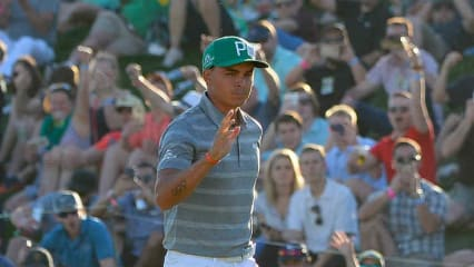 Rickie Fowler hat den Sieg der Waste Management Phoenix Open in Griffweite. (Foto: Getty)