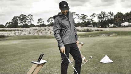 Dustin Johnson ist begeistert von der Vielseitigkeit der neuen Adidas adicross-Linie. (Foto: Adidas Golf)