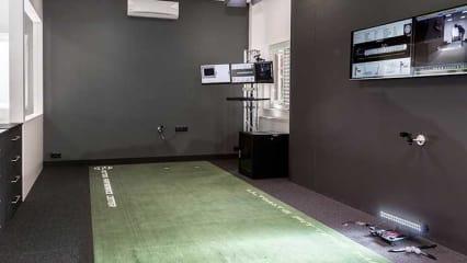 Das Herzstück des Putting Performance Center von Caledonia. (Foto: Caledonia)