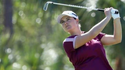 Caroline Masson platziert sich vor Moving Day gleich hinter der Top 10 und bringt sich in Position. (Foto. Getty)