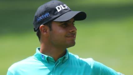European-Tour-Führender Shubhankar Sharma steht an der Spitze der WGC - Mexico Championship. (Foto: Getty)